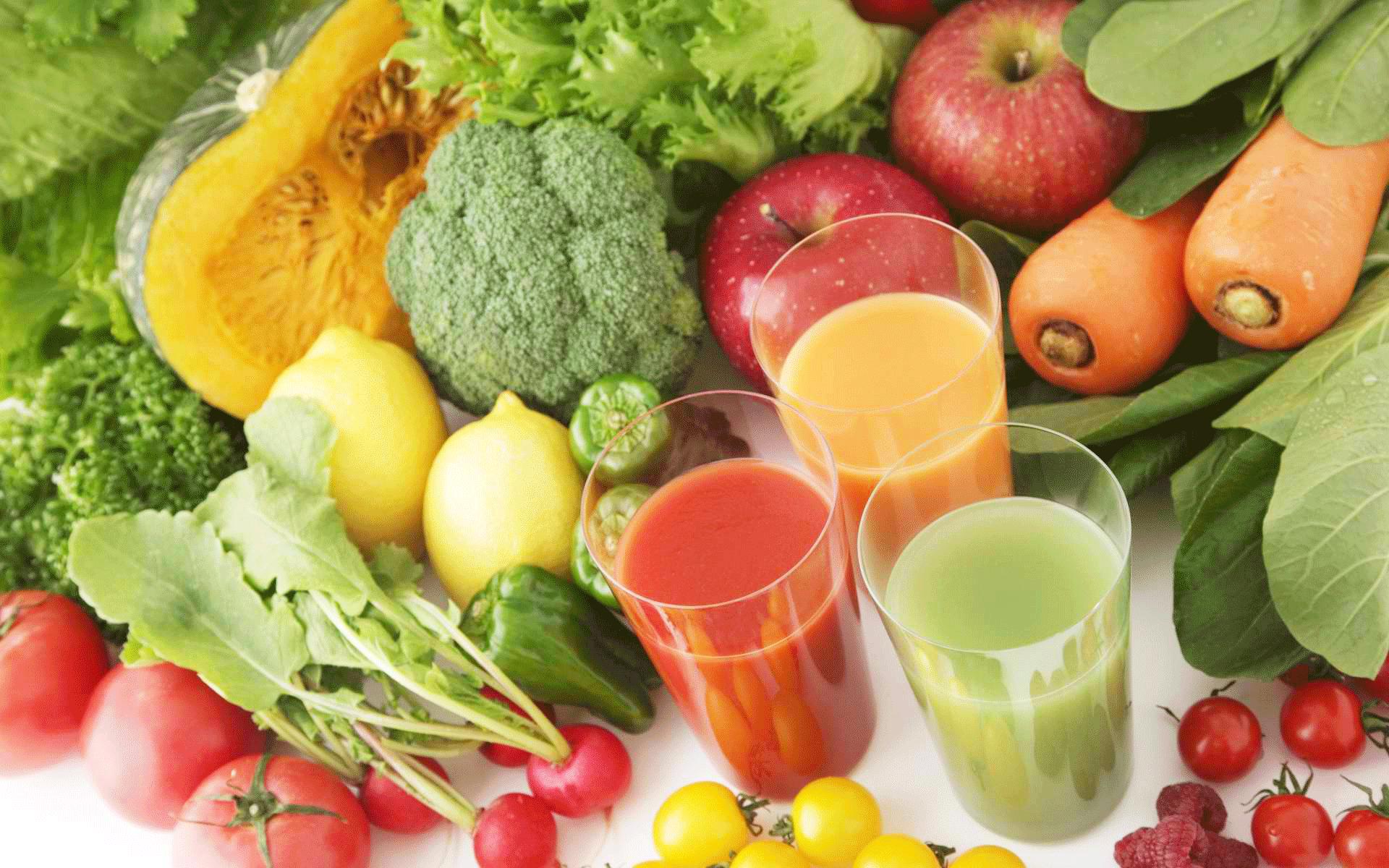recettes de jus de légumes detox