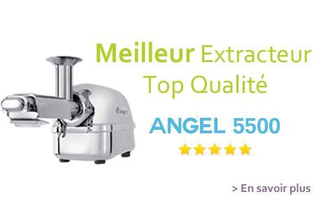 Angel 5500 extracteur de jus inox